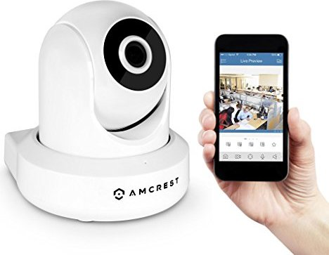 Amcrest ProHD 1080P WiFi Security Monitoring System -