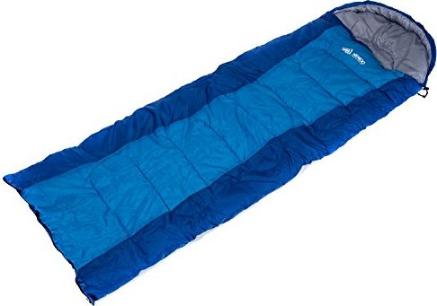 Semoo Rectangular Sleeping Bag,Comfort Loft Waterproof, Polyester Portable,